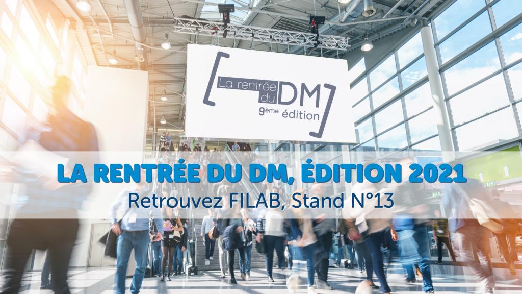 Rentrée du DM 2021, FILAB Stand 13